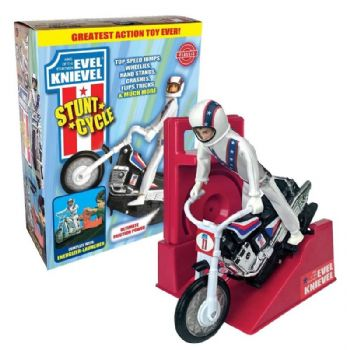 Evel Knievel Stunt Cycle Retro Original 70's Version